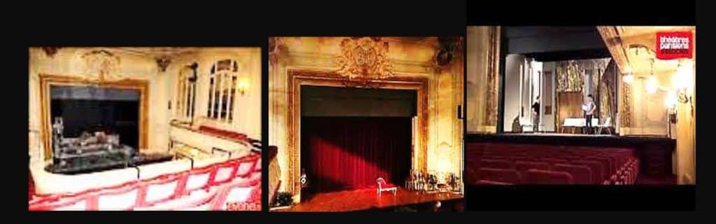 Théâtre Tristan-Bernard – Paris 17éme. Franck Tonnellier y travaille tous les jours durant 3 ans au sein du cours N.MEROUZE