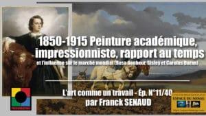 1850-1915 PEINTURE ET RAPPORT AU TEMPS